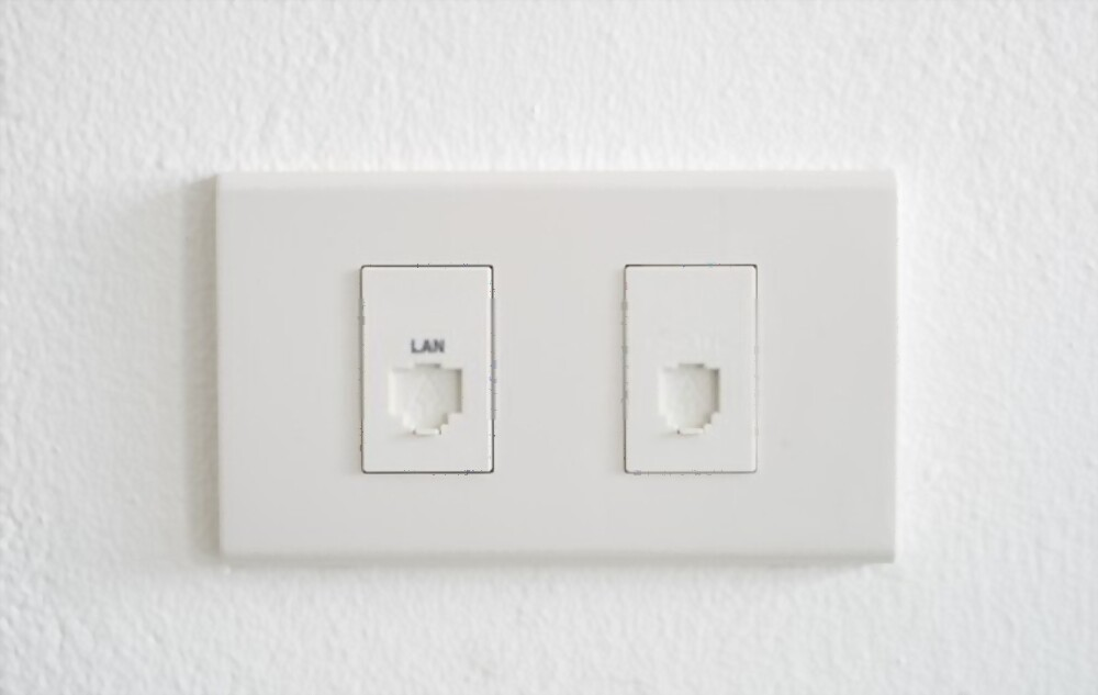 no ethernet port in house