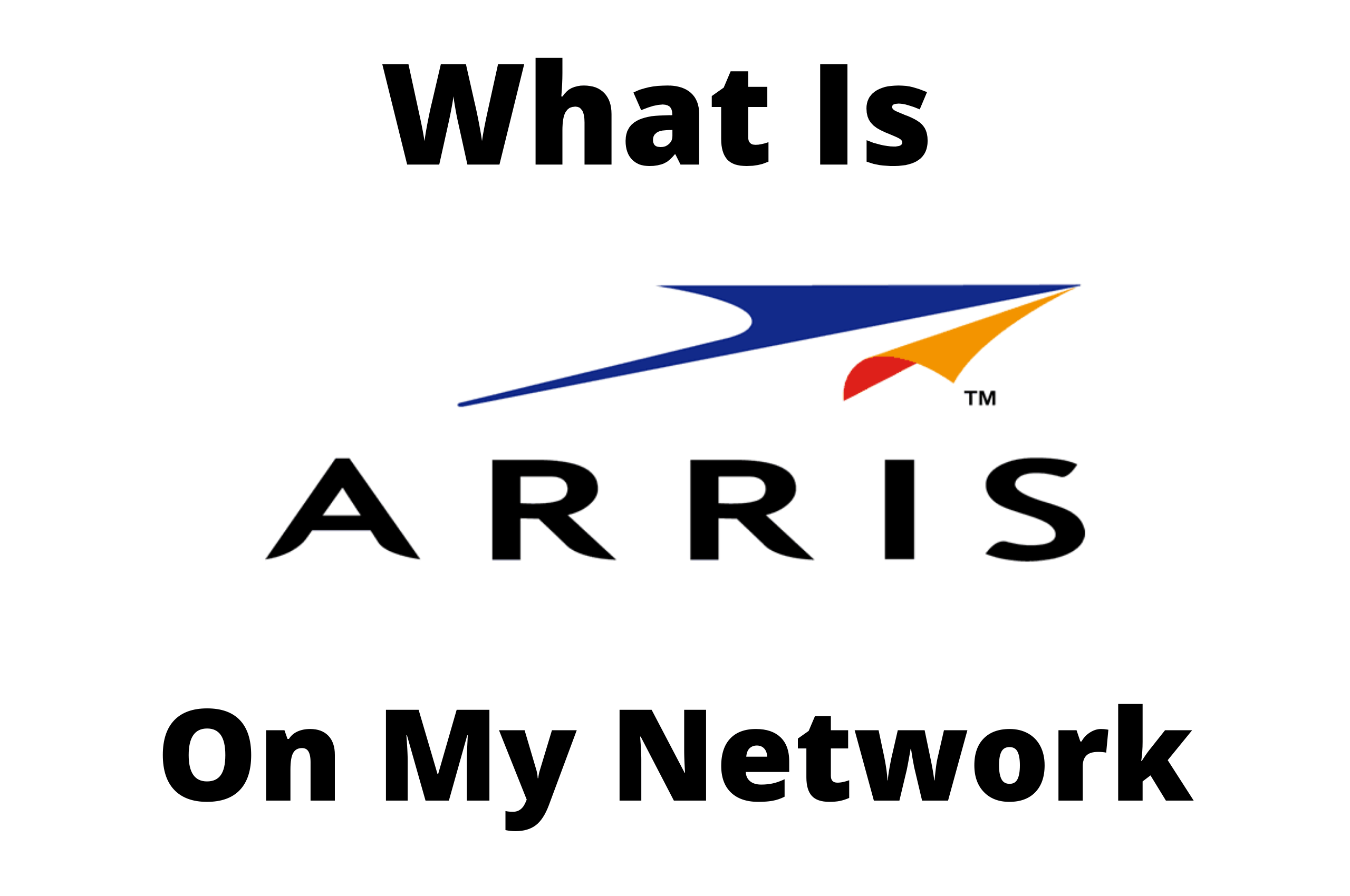 arris group on my network